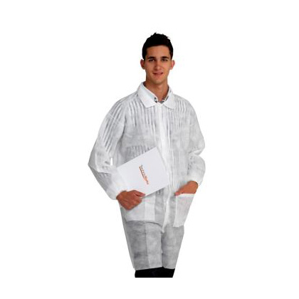 Economy Disposable Laboratory Coat