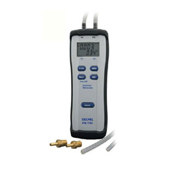 Dual Input Differential Manometer
